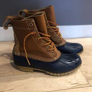 """Women's ll bean 8"""" boots size 7"""